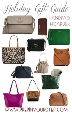 Holiday Gift Guide {Handbag Hoarder}