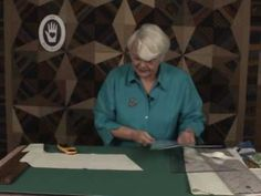 ▶ Kaleidoscope Block 4 of 4 - Cutting Half Kaleido Angles - YouTube