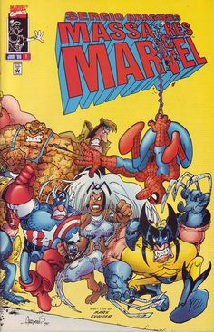 Sergio Aragones Massacres Marvel