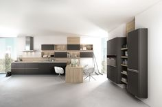 Hacker 6000 Black Satin Lacquer. Cooking, Eating And Celebrating Together,  The Kitchen Has