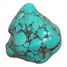 Turquoise is honored by the Native Americans as a Sacred Stone of wisdom and spiritual journeys. It's also said that whoever wears turquoise will be protected to not break bones. It is often used on horses bridles.