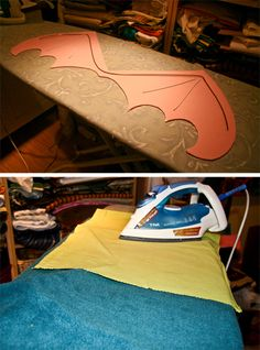 Printable Dragon Wing Pattern and instuctions for Halloween Costume