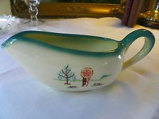 "Vintage 1950 RARE Gravy Boat ""Forever Yours"" by Brock of California"
