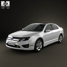 Ford Fusion Sport 2010 3d model from humster3d.com. Price: $75