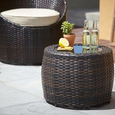 Garden Furniture Jakarta george home 2 jakarta high-bar chairs - dark linen | garden