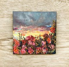 Small Canvas Paintings, Easy Canvas Art, Small Canvas Art, Mini Canvas Art, Acrylic Art, Acrylic Painting Canvas, Painting Inspiration, Creative Art, Watercolor Art