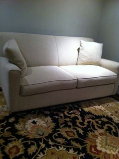 Love our new St. Louis sleep sofa. The color is Oyster. -Barry S.