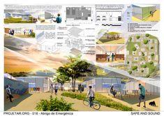Pranchas arquitetonicas Architecture Concept Drawings, Architecture Panel, Education Architecture, Architecture Design, Architecture Presentation Board, Urban Planning, Urban Design, Design Projects, Layout