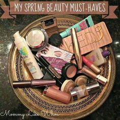 These are very necessary for Spring time! #Spring #MustHaves #Cosmetics