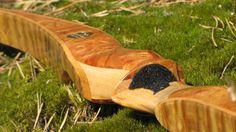 Wave-S Bogensport - Recurvebogen - Jagd - Holzkunst - Epoxy - Resin