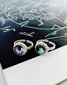 Together Forever Limited Edition Earth And Moon Ring — Eclectic Eccentricity Vintage Jewellery