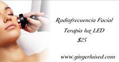 Tratamiento rejuvenecedor y reafirmante ayudando a la piel con la produccion de colageno.