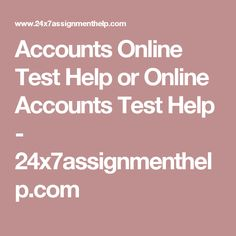 Online assignment system