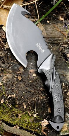Coleman Fixed-Blade Knife, Camping and Hiking Axe with Hook, 10-Inch Overall, Black - CM2008 @aegisgears