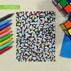 49 Ideas doodle art design sketch books for 2019 Doodle Paint, Doodle Art Drawing, Zentangle Drawings, Doodles Zentangles, Doodle Doodle, Manga Drawing, Doodle Art Designs, Doodle Patterns, Zentangle Patterns