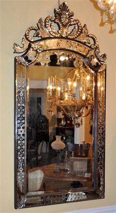 Bronze Venetian Mirror