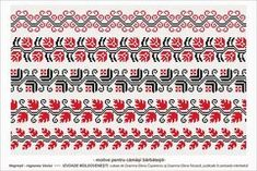 Semne Cusute: Romanian traditional motifs - MOLDOVA - Vaslui, Negresti