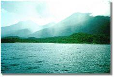 Lake Tanganyika. Africa.  Second largest lake in the world.