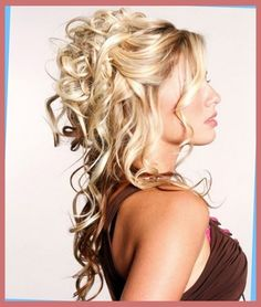 easy partial updos for long hair | Right HS