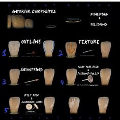 """385 Gostos, 25 Comentários - Biomimetic Dentistry (@biomimeticstudyclub) no Instagram: """"Here's s great sequence to finishing anterior composites. Anyone have a different method? :…"""""""