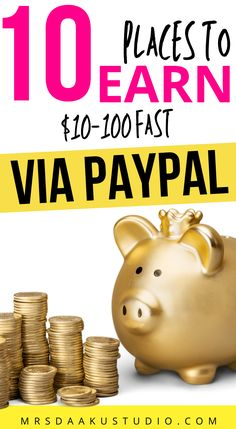 Check out these hacks to get free money now through cash apps or side gigs and get paid via paypal. Learn how to get money online for free. These legit ways to get free money are fast and easy! Make easy money online with Paypal cash payouts! #makemoney #sidehustle #sidejob #sidegig Make Easy Money Online, Make Money Fast, How To Get Money, Make Money From Home, Free Money Now, Earn More Money, Earn Money Online, Earn Extra Cash, Work From Home Moms