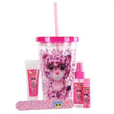 Ty Beanie Boos Insulated Tumbler & Bath Set