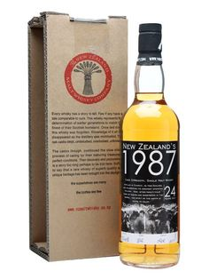 New Zealand's 1987 / 24 Year Old / Touch Pause Engage : Buy Online - The Whisky Exchange - A 24 year old cask strength whisky from New Zealand's closed Willowbank distillery. It's been bottled to commemorate the first rugby world cup, held in 1987 and won by the All Blacks, and named for...