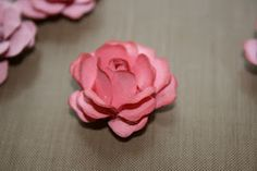 How to make Shabby chic paper roses