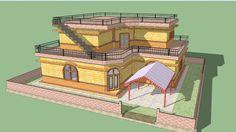 Beautiful modern home model - 3D Warehouse