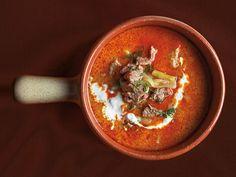 Lamb Soup With Sour Cream (Palócleves) #Tastebudladies #Soup