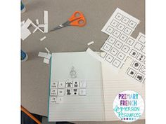 Using images and blocks to build sentences in French! Great for French Immersion or Core French students!