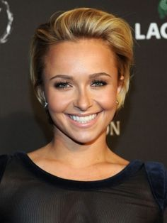 Hayden Panettiere's adorable haircut. love the length
