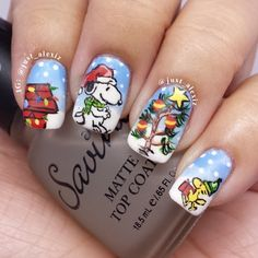 snoopy christmas by just_alexiz I love this girl's page she has some crazy talent
