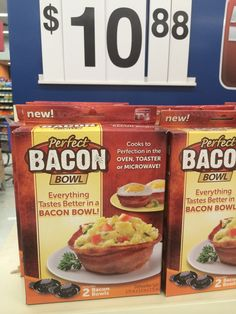 U cannot have too much bacon