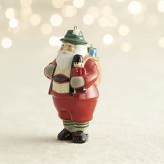 Around the World Santa Germany Ornament  | Crate and Barrel