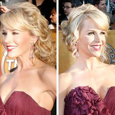 Brides Magazine: Red Carpet Wedding Hairstyles : Wedding Hairstyle Gallery- only one