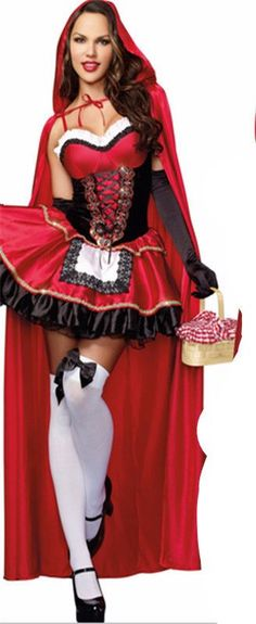 Special Use: Costumes Gender: Women Material: Polyester Feature: little red riding hood costume Style: cosplay - 14 Day Hassle Free return policy - Allow 2-4 weeks for delivery - Safe and secure check