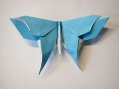 Butterfly designed by Michael LaFosse - Video tutorial