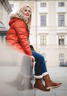 ee3910587b6b Schuhe für Damen  Instagrammerin Anke liebt ihre neuen, warmen ara Stiefel  Anchorage. Foto
