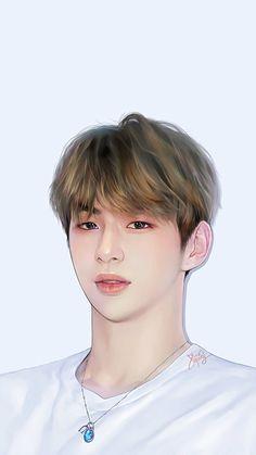 Daniel K, Kpop Fanart, Comic Character, Korean Singer, Wallpaper Quotes, Fan Art, Drawings, Boys, Cute