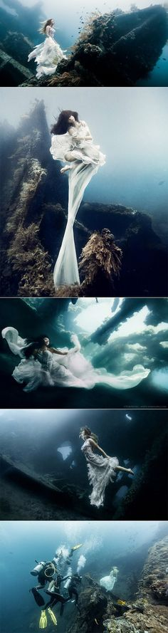 Underwater Photoshoot - Bali