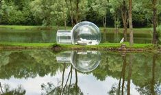 Bubbles of Luxury: Inflatable Spheres for Modular Camping