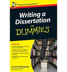 At 10,000 to 20,000 words long, a dissertation is very likely the most intimidating and difficult assignment that students in higher education degrees have to submit. Writing a Dissertation For Dummies  walks you through all the practical and theoretical aspects of writing a dissertation to help you produce a first-class work.