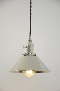Pendant Light Fixture Edison Bulb Brushed Nickel Pendant - 4 bulb kitchen light fixture