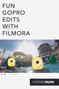 Wondershare Filmora for Super Fun GoPro Edits