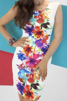 New Floral Dress by Frank Lyman Image
