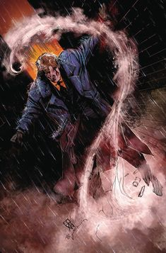 The Question: The Deaths of Vic Sage #4 - Denys Cowan (pencils), Bill Sienkiewicz (inks), and Chris Sotomayor (colors) Black Lantern Ring, Three Jokers, Lady Shiva, New Justice League, Adam Strange, Dc Comics Heroes, Marvel Comics, The Faceless, Betty And Veronica