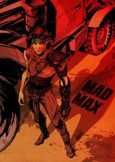 Mad Max Fury Road Artwork: Flore Maquin