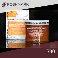 ISO!!!! Peter Thomas Roth pumpkin enzyme mask NWT! I am looking for a BRAND NEW Peter Thomas Roth pumpkin enzyme mask. MUST BE FULL SIZED. This is the price I am willing to pay for it ... Please comment below if you have any. ONLY ACCEPTING FULL SIZE AND BRAND NEW!!!!!!!! Sephora Makeup Face Primer