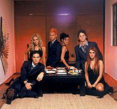 Nuestro Amor - 032 - RBD Fotos Rebelde | Maite Perroni, Alfonso Herrera, Christian Chávez, Anahí, Christopher Uckermann e Dulce Maria